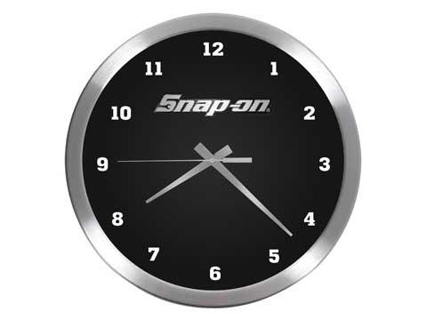 Snap-on(スナップオン)時計「CHROME METAL CLOCK」